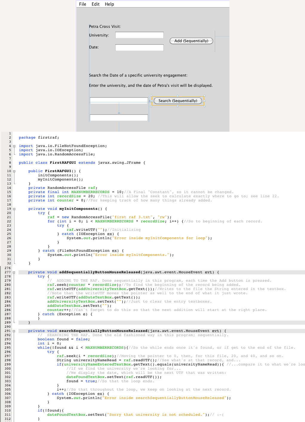 java code review document template best free home